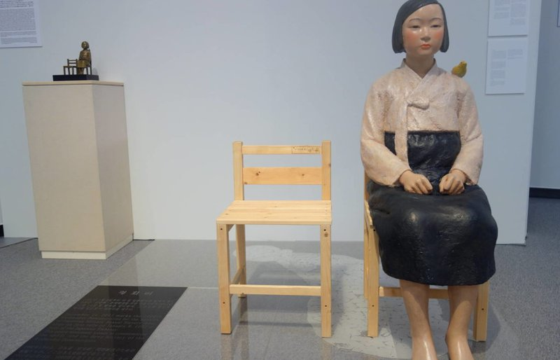 Kim Seo-kyung and Kim Eun-sung, Statue of a Girl of Peace (2011). Courtesy of the artists..jpg