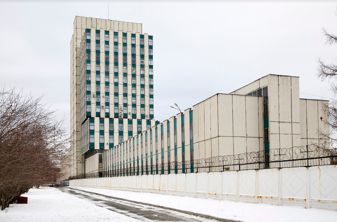 The Ural Optical and Mechanical Plant (venue of the Main Project) - view outside
